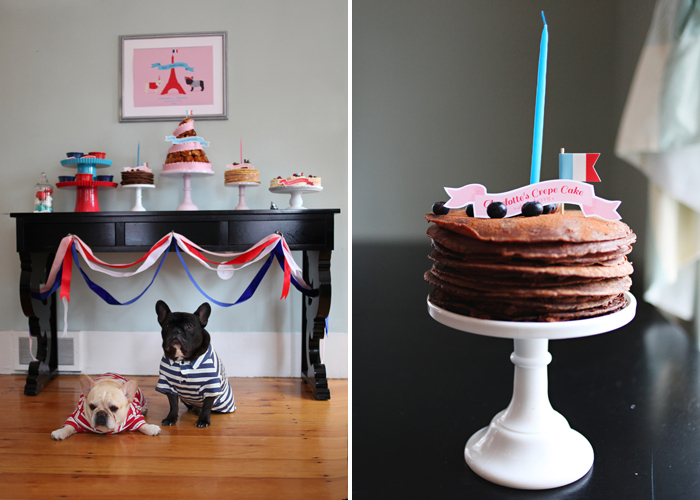 French Themed Party | Cake