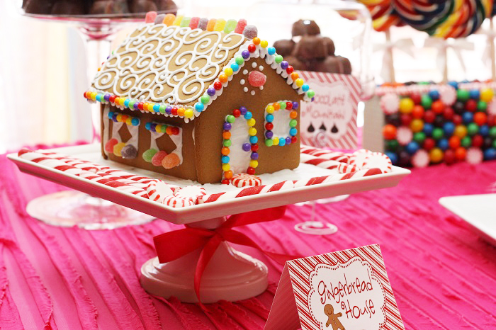 Gingerbread House1 Candy Land Guest Dessert Feature