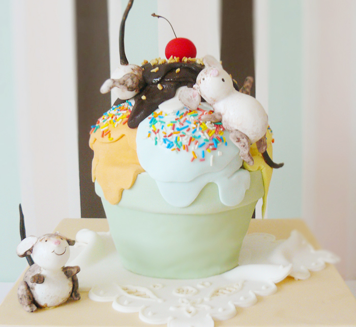 Ice Cream Sundae Cake Ice Cream Sundae Guest Dessert Feature