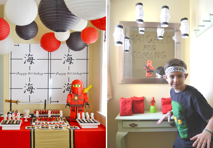 Boys Birthday Party Ideas Ninjago