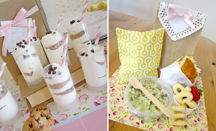 Schoolhouse Baby Shower Snacks