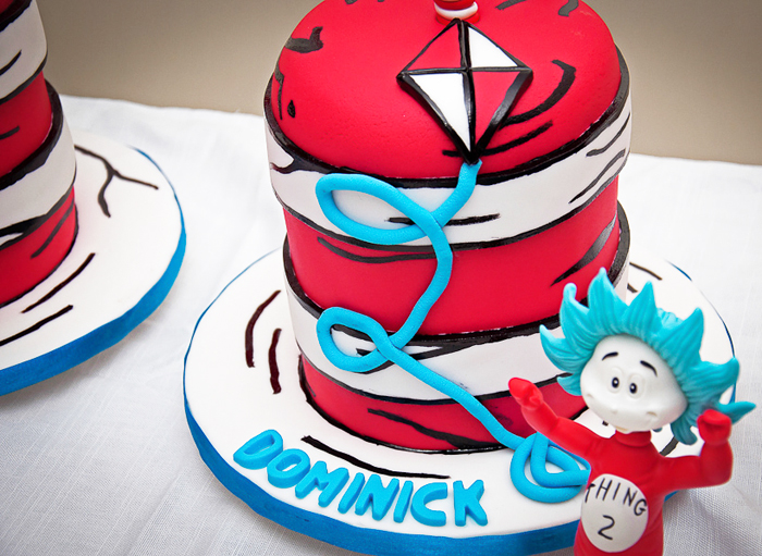 Cat In the Hat Party | Cake