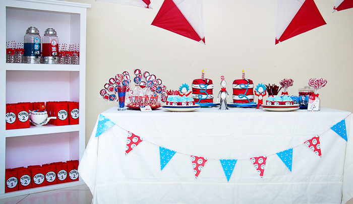 Cat In the Hat Party | Full Table