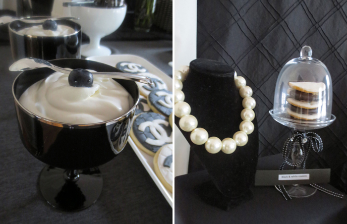 Chanel Party Crazy About Coco Guest Dessert Feature