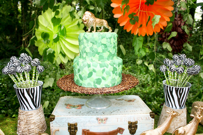 Safari Party Cake Safari Party Guest Dessert Feature