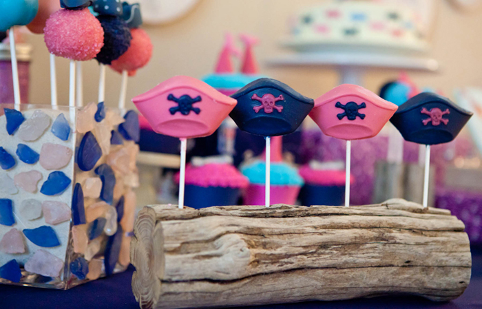 Chocolate Lollipops Mermaids and Pirates Guest Dessert Feature