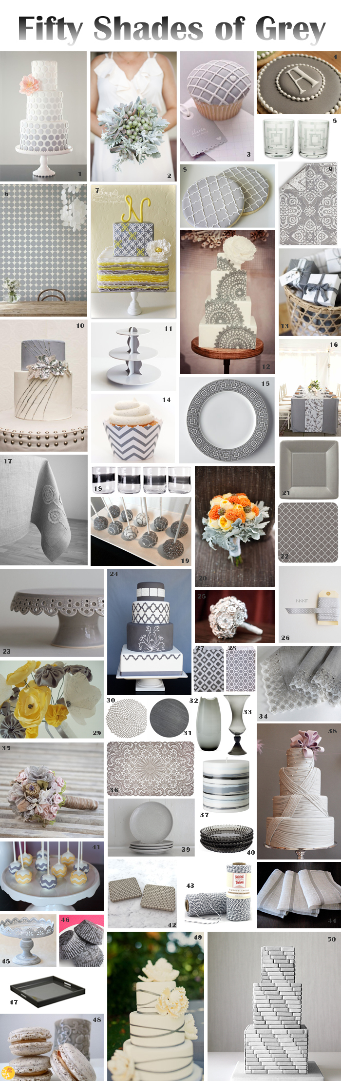 50 Shades Grey Fall Trend: 50 Shades of Grey Entertaining