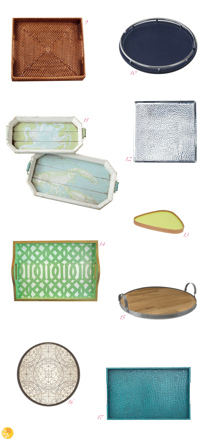 Great Trays Great Finds: Tray Chic