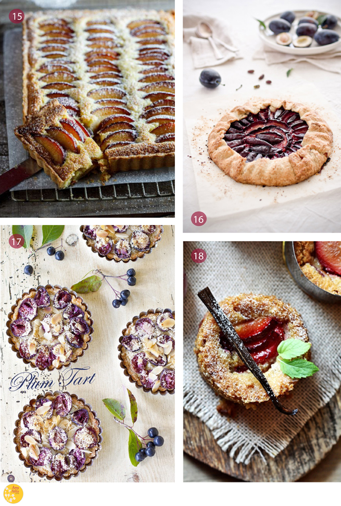 Plum Tarts3 Plum Perfection {18 Plum Desserts to Get Your Juices Flowing}