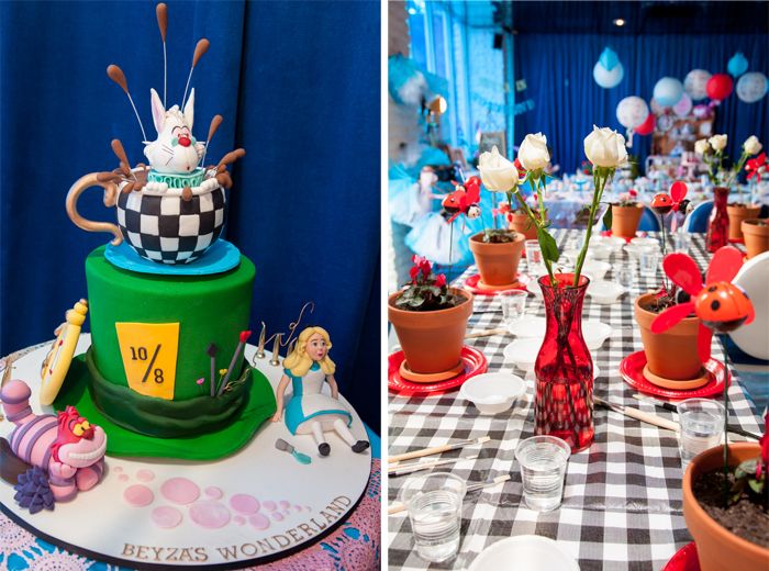 mad hatter cake Alice in Wonderland Guest Dessert Feature