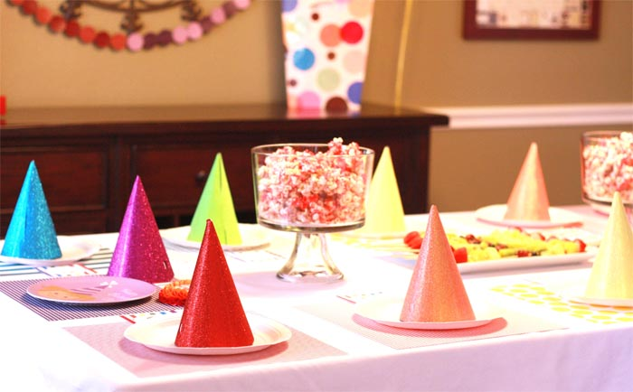 rainbow party Rainbow Guest Dessert Feature