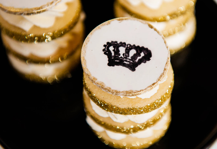 Crown Cookies Party Fit For A Prince Guest Dessert Feature
