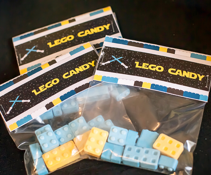 Favors Legos And Lightsabers Party: Part II