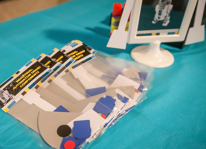 Star Wars Crafts Legos And Lightsabers Party: Part II