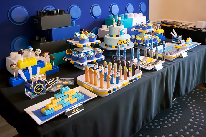 Star Wars Dessert Table Legos And Lightsabers Guest Dessert Feature: Part I