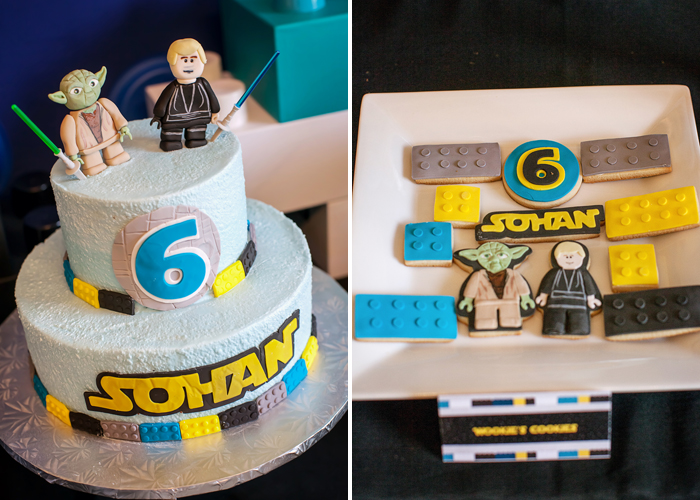 Star Wars Sugar Cookies Legos And Lightsabers Guest Dessert Feature: Part I