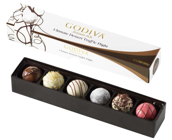 ultimate dessert GODIVA truffles Great Finds: GODIVA Truffle Flights