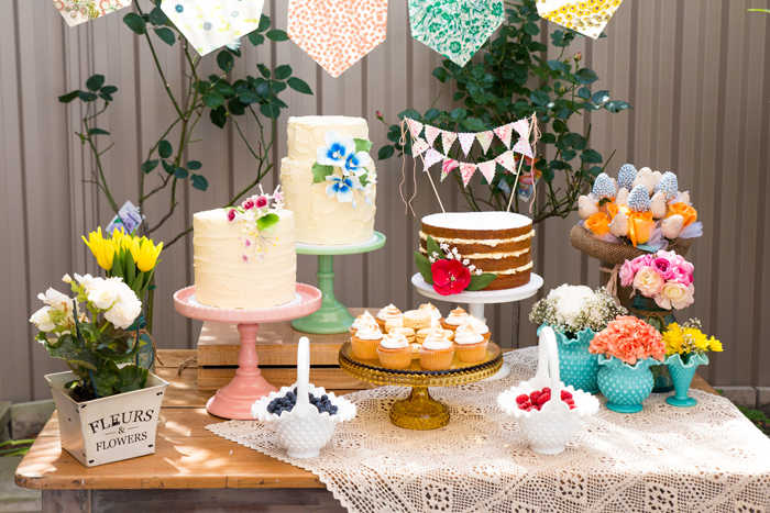 Beautiful Dessert Table Beautiful Garden Baby Shower Guest Dessert Feature