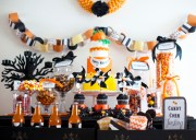Halloween Candy Corn Bar