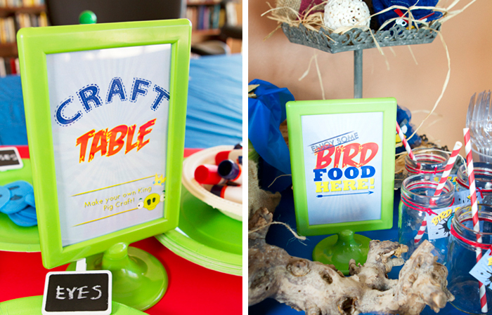 Angry Birds Birthday Party | Party Signage