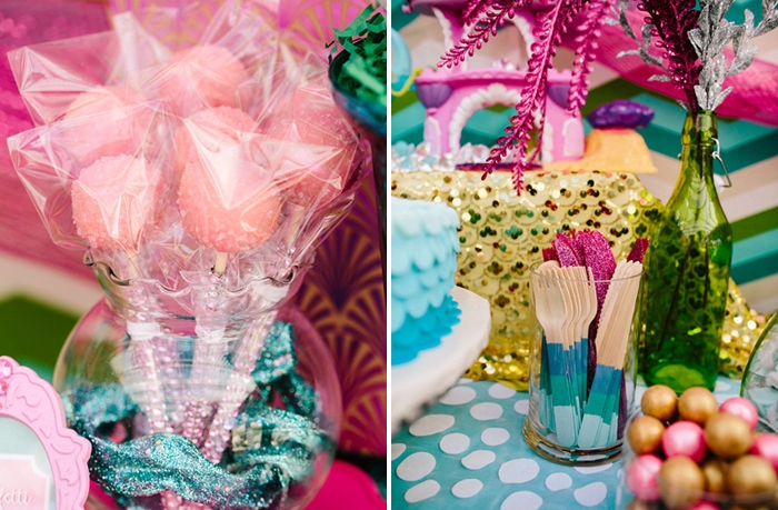 Mermaid Party | Cake Pops