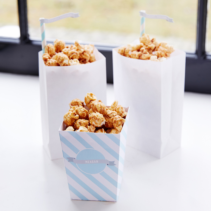 Caramel Popcorn Winter Wonderland Party