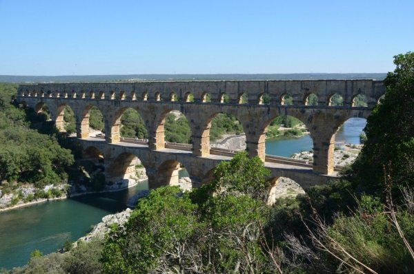The Pont du Gard is a Roman monument built halfway through the 1st century AD © Carole Raddato