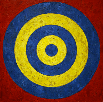 Target by Jasper Johns por cliff1066