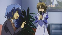 Hayate and Maria