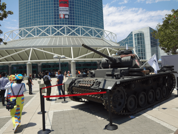 Yes, yes, the tank that had everyone fawning. Including me.