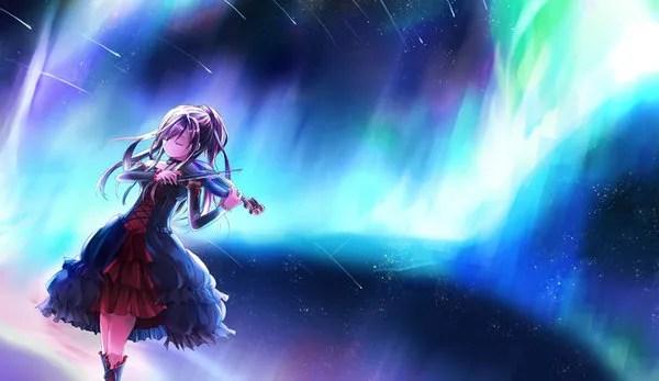 Anime Girl Violin