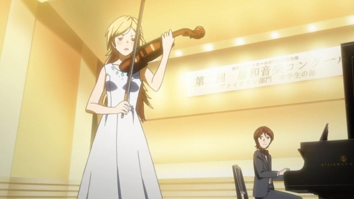 Music Notes: Shigatsu wa Kimi no Uso - Episode 2