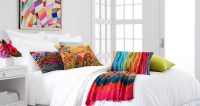 All White Bedrooms With Pops Of Color | www.pixshark.com ...
