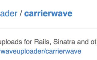 CarrierWaveでURLから画像を保存、アップロードする方法