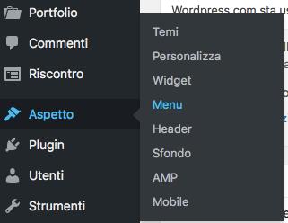 creare il sito wordpress