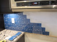How to Install a Glass Tile Backsplash - Armchair Builder ...