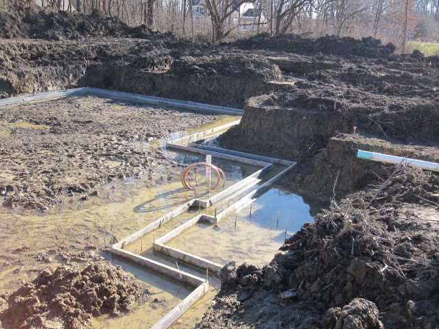 House Foundation Excavation: Dealing With High Water Tables