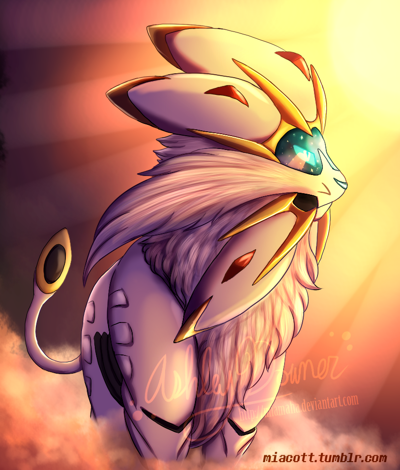 Pokemon - Solgaleo by MiaMaha