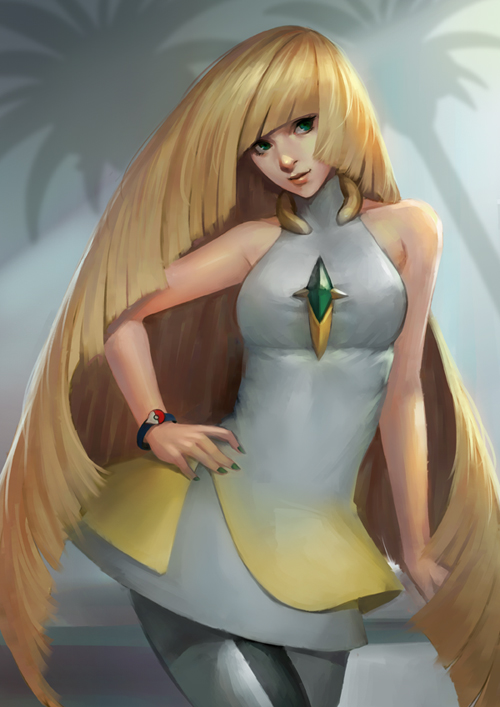 Pokemon Sun/Moon Lusamine by  phamoz