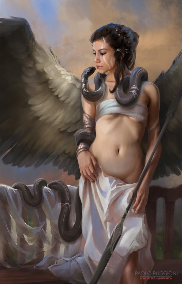 Black Angel by Paolo Puggioni