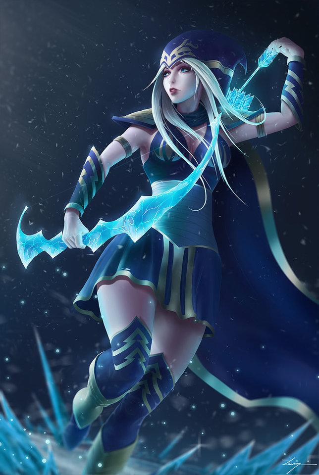 Ashe The Frost Archer by Casper Hansen
