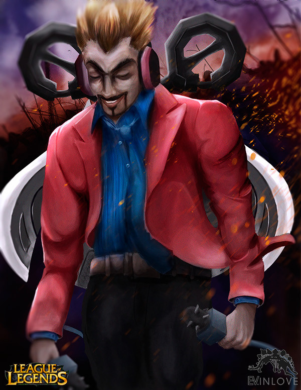 Draven by inloveart