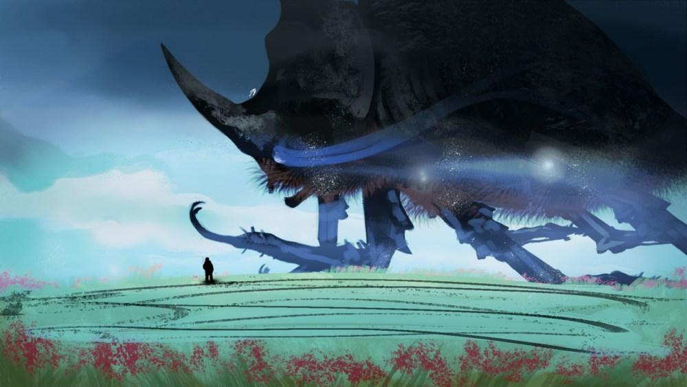 Giant Rhinoceros Beetle by Joe Darkbugg