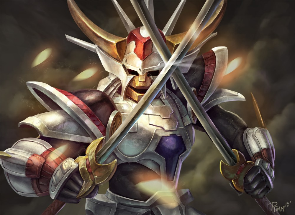 Ronin Warriors White Inferno Armor by Andy Timm