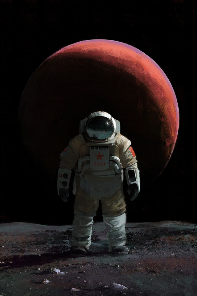 Cosmonaut by Mac Rebisz