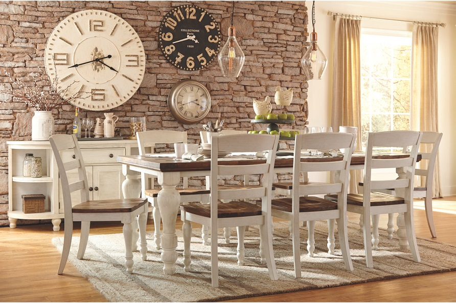 Marsilona Dining Room Table Ashley HomeStore