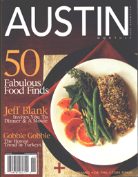 On the cover of Austin Magazine
