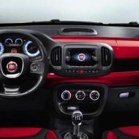 Nouvelle Fiat 500 L : Photo de l'interieur dévoilé