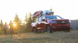 2015 Chevy Colorado GearOn System with Kayak and Canoe holding attachment