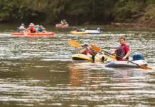 randonnée canoe